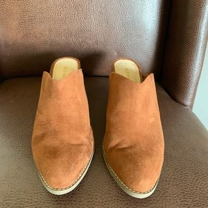 Old Navy Fall Tan Mules